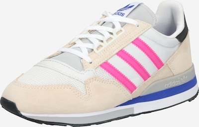Sneaker low ADIDAS ORIGINALS pe crem / maro cămilă / fucsia / negru, Vizualizare produs