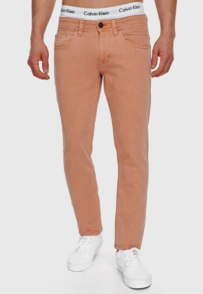 INDICODE JEANS Jeans 'Woods' in pastellorange, Modelansicht
