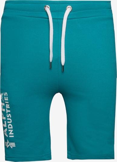 ALPHA INDUSTRIES Shorts in blau, Produktansicht