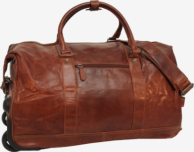 Gusti Leder Weekender Reisetasche 'Bexley' in braun, Produktansicht