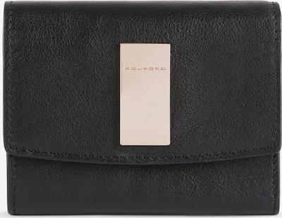 Piquadro Geldbörse 'Dafne' in schwarz, Produktansicht