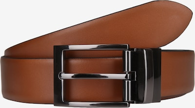 Lloyd Men's Belts Ledergürtel in cognac / schwarz, Produktansicht