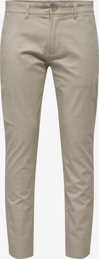 Only & Sons Chino in de kleur Beige / Bruin, Productweergave