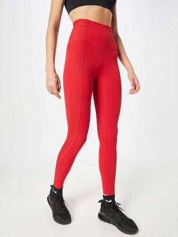 Pantaloni sportivi di NIKE in rosso