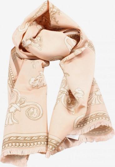 MONDI Seidenschal in One Size in nude / weiß, Produktansicht