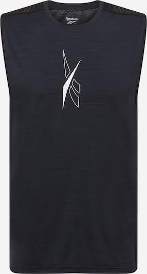 Tricou funcțional 'Workout Ready' Reebok Sport pe negru / alb, Vizualizare produs