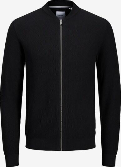 JACK & JONES Gebreid vest in de kleur Zwart, Productweergave