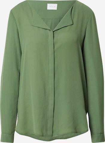 VILA Bluse in Grün