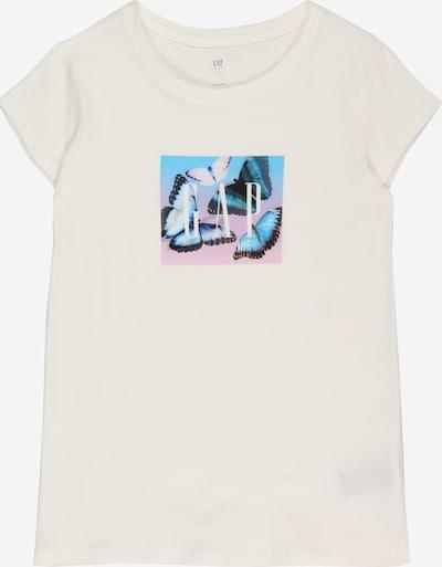 GAP Тениска в светлосиньо / пастелно розово / черно / мръсно бяло, Преглед на продукта