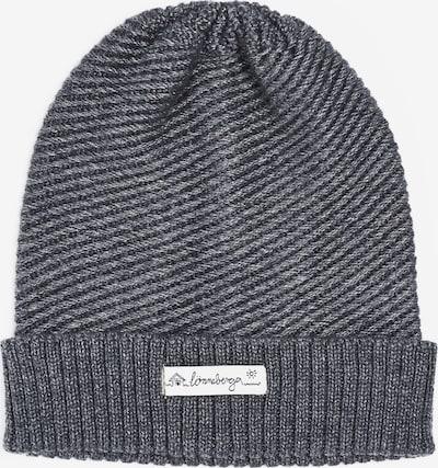Lönneberga Mütze 'Luna' in grau / weiß, Produktansicht