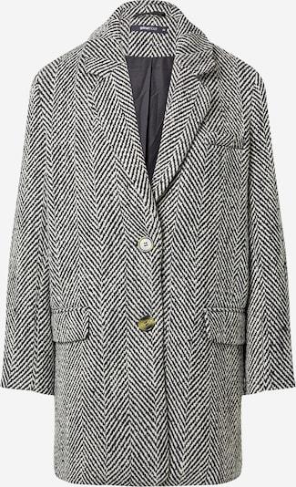 Gina Tricot Преходно палто в черно / бяло, Преглед на продукта