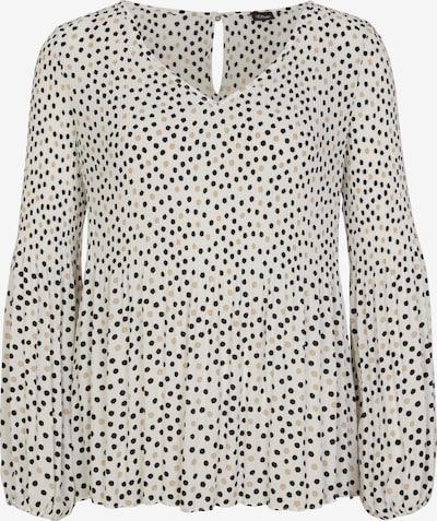 s.Oliver BLACK LABEL Bluse in beige / schwarz / weiß, Produktansicht