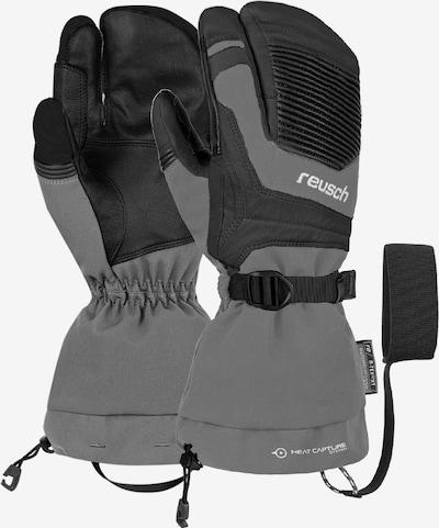 REUSCH 3-Finger Handschuhe 'Ndurance Pro R-TEX® XT Lobster' in grau / schwarz, Produktansicht