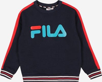 FILA Sweatshirt 'ALESSIO' in hellblau / rot / schwarz, Produktansicht