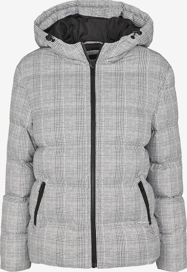Urban Classics Jacke 'Glencheck' in schwarz / weiß, Produktansicht