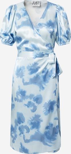 JUST FEMALE Kleid 'Laguni' in blau / weiß, Produktansicht