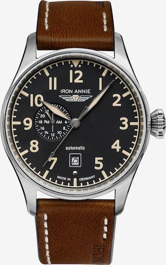 Iron Annie Armbanduhr 'Flight Control' in braun / schwarz, Produktansicht