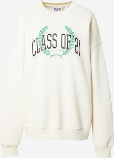 ABOUT YOU Limited Sweatshirt 'Karli' in de kleur Offwhite, Productweergave