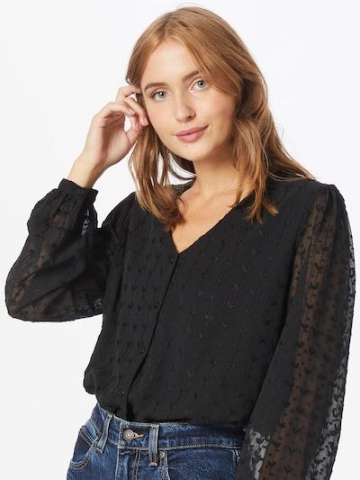 VILA Blouse in Black, View model