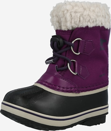 SOREL Snowboots 'YOOT PAC in Lila