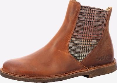 KICKERS Chelsea Boots 'Tinto' in rostbraun / hellbraun / dunkelgrau / koralle, Produktansicht