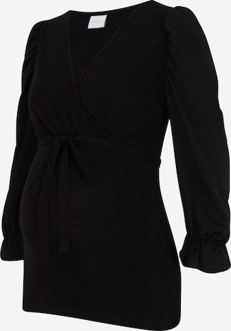 MAMALICIOUS Skjorte 'BONNIE' i svart