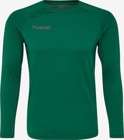 Hummel Shirt in grau / grün, Produktansicht