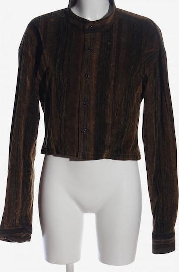 Angelo Litrico Kurz-Blazer in 4XL in braun / schwarz, Produktansicht