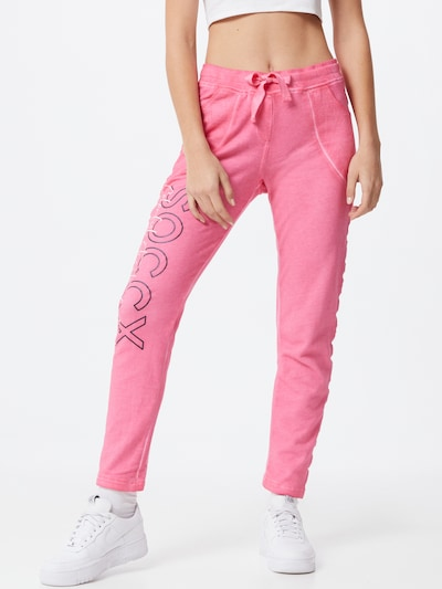 Soccx Trousers in Pink / Black / White, View model