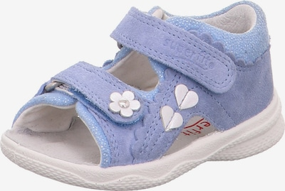 SUPERFIT Sandales 'Polly' en bleu clair / violet, Vue avec produit