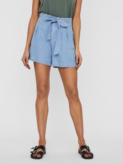 VERO MODA Pantalon 'Mia' en bleu denim, Vue avec modèle