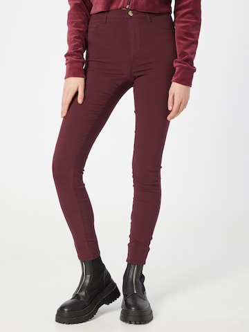 ONLY Jeggings 'NANNA' in Rood