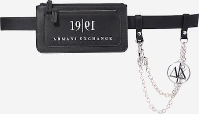 Curea ARMANI EXCHANGE pe negru / argintiu, Vizualizare produs