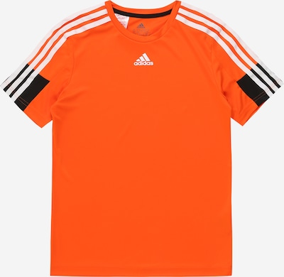ADIDAS PERFORMANCE T-Shirt 'B A.R.' in orange / schwarz / weiß, Produktansicht