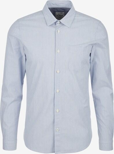 s.Oliver Koszula w kolorze jasnoniebieski / białym, Podgląd produktu