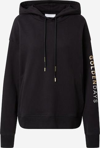 juoda BOSS Casual Megztinis be užsegimo 'Eustice'