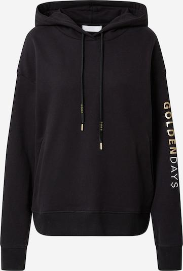 BOSS Casual Sweatshirt 'Eustice' in Gold / Black, Item view