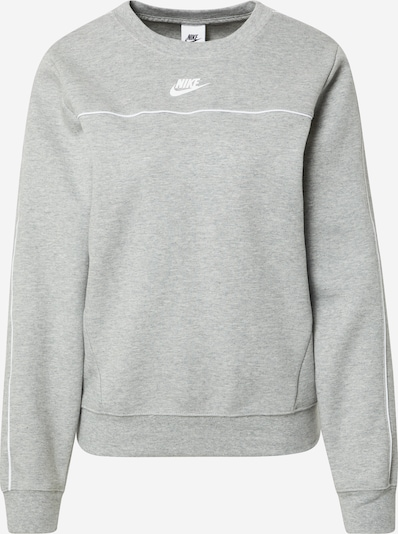 Nike Sportswear Sweatshirt in Grey / White, Item view