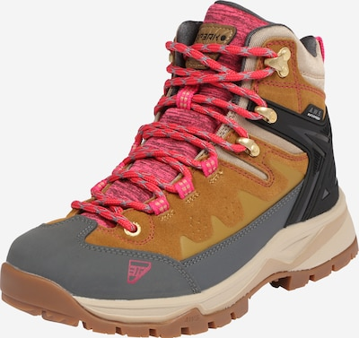 ICEPEAK Boots 'Wynne' in brown / smoke grey / pink / black, Item view