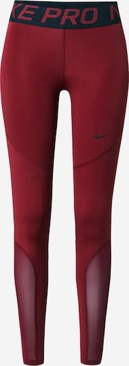 NIKE Спортен панталон в винено червено / черно, Преглед на продукта