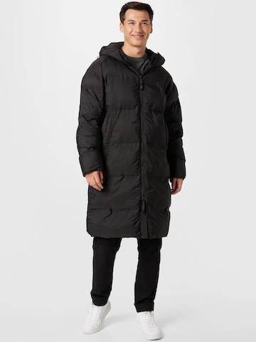 Manteau d'hiver Lindbergh en noir
