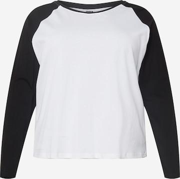 Urban Classics Curvy Shirt in Wit