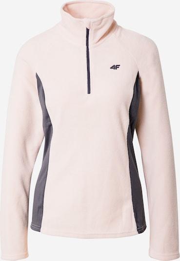 4F Funkčná flisová bunda - tmavosivá / pastelovo ružová, Produkt
