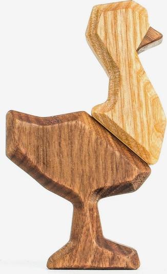 FABLEWOOD Figur 'Little Ostrich' in beige / braun, Produktansicht