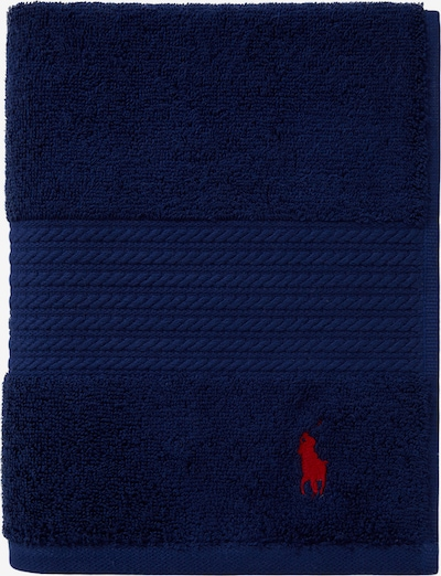 RALPH LAUREN Badetuch 'POLO PLAYER' in blau / navy / dunkelblau, Produktansicht
