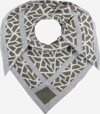 Zwillingsherz Wrap in Grey / Khaki / White, Item view