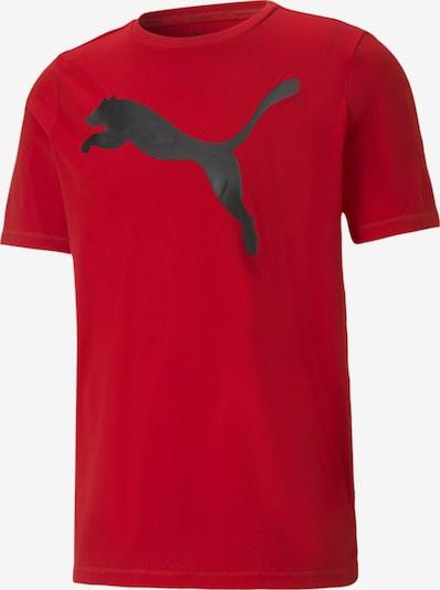 PUMA T-Shirt fonctionnel en noir, Vue avec produit
