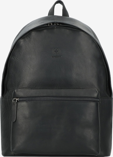 STRELLSON Rugzak 'Blackwall' in de kleur Zwart, Productweergave