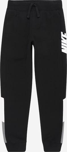Nike Sportswear Hose 'Core Amplify' in grau / schwarz / weiß, Produktansicht