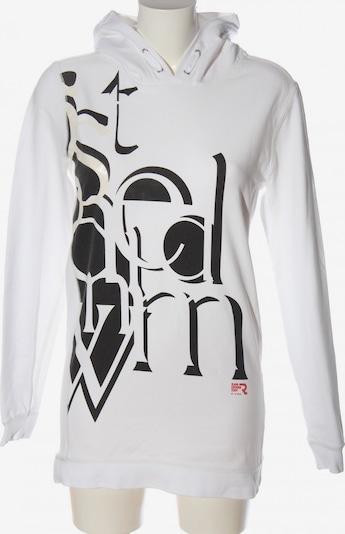 G-Star RAW Sweatshirt & Zip-Up Hoodie in M in Black / White, Item view
